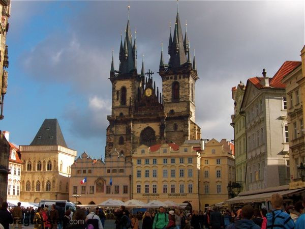 Church of Our Lady before the Tyn in Prague Images Prague Gothic Architecture