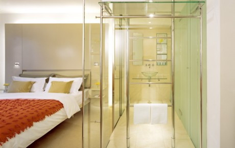 Prague Design Hotel | Glass Bathroom