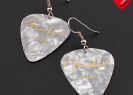 LoveMusic | Guitar Pick Earrings