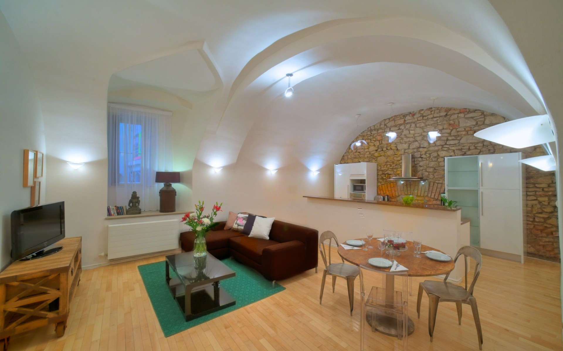 Two-Bedroom Vault Apartment