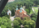 View from Petřín Lookout Tower