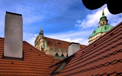 Mala Strana Rooftops, St. Nicolas