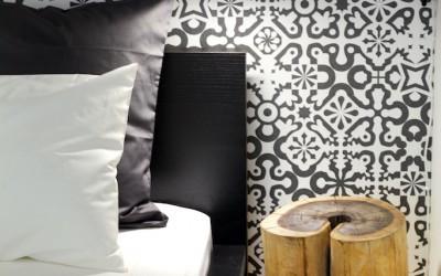 Декоративный элемент в спальне