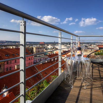 Апартамент Prague Panorama Penthouse
