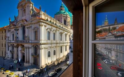 Prague Castle Reflection