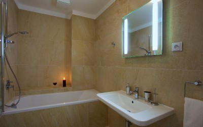 Large Bathroom with bathtub