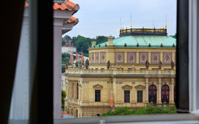 View from Apartment, Rudolfinum