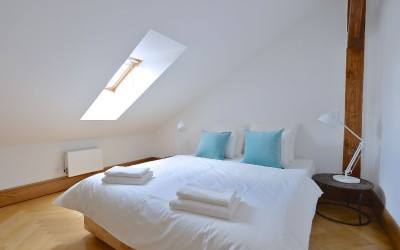 2nd Bedroom with Slanted Ceiling