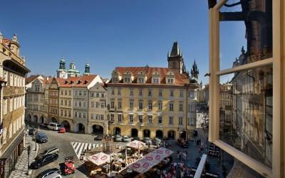 Výhled na Malé náměstí