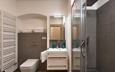 Shower Bathroom w/ Sink, Toilet