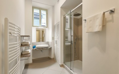 Bathroom with Sink, Shower