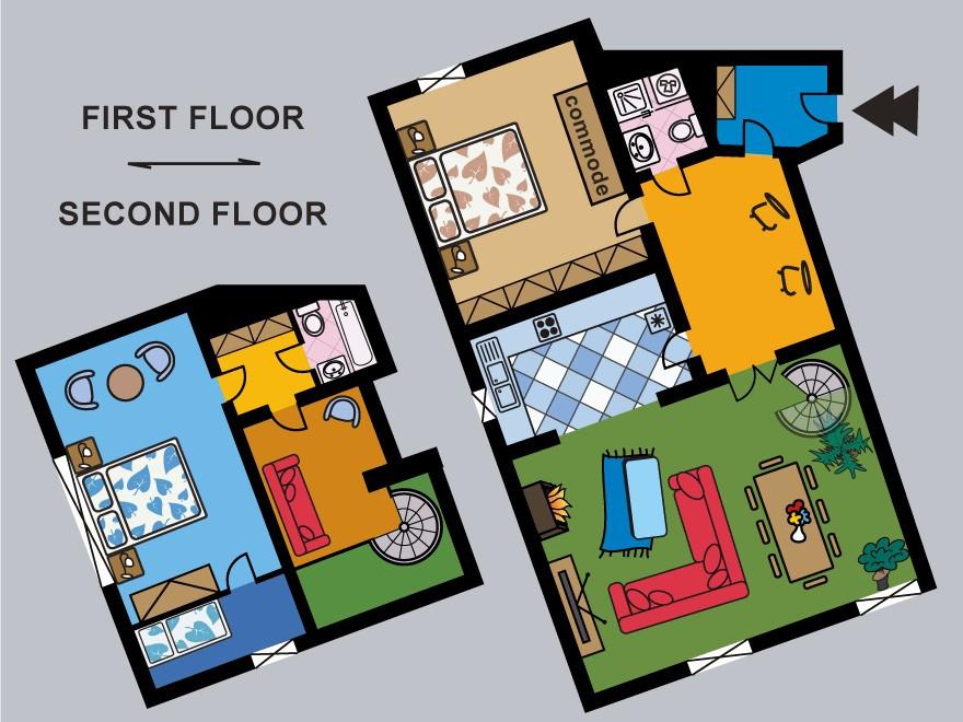 Floorplan, Melody Apt.