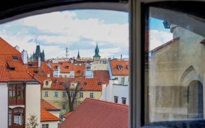 View of Old-World Prague