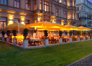 Le Papillon at Le Palais Hotel | Prague Fine Dining | Terrace