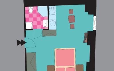 Freesia Floor Plan