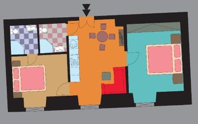 Jasmine Apt. Floor Plan