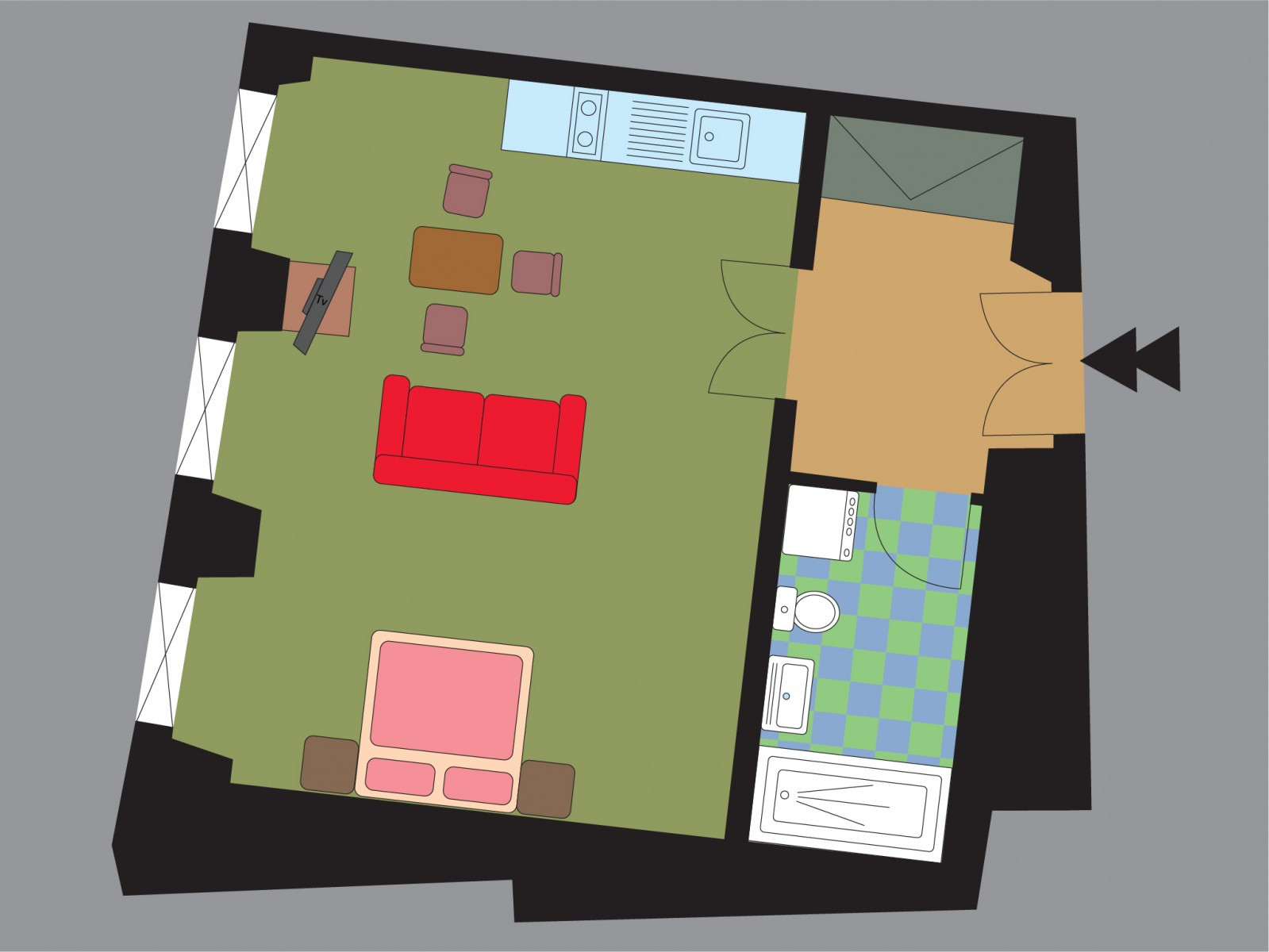 План апартамента Lily