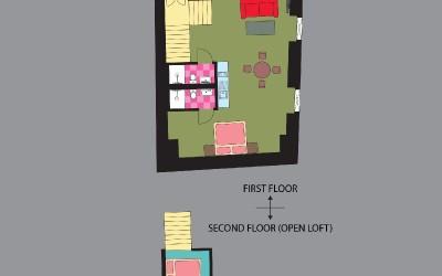 Апартамент Iris, план
