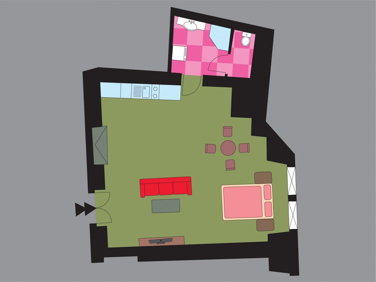 Elderflower Floor Plan
