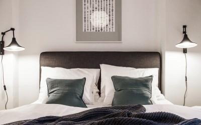 1st Bedroom, Bed Detail
