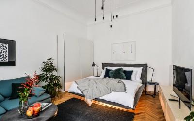 Стильная мебель апартамента Dahlia