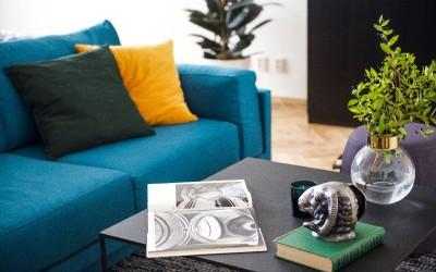 Reading Material, Sofa