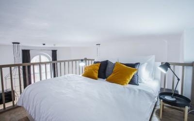 Vestavěné patro | apartmán Iris