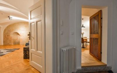 Apartment Suite, Living Room & Kitchen Entrance