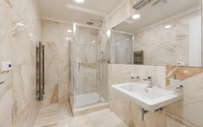 Handsome Tile Bathroom