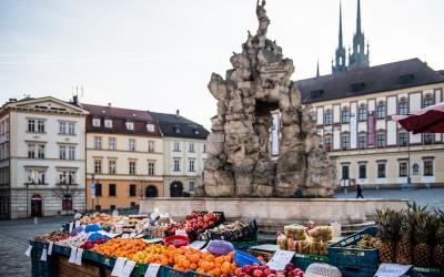 Vegetable Market square, Brno Historic Center