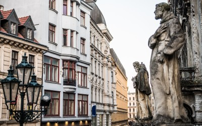 Buildings, Statues, Historic Brno