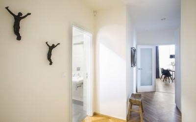 Decor na zdi apartmánu Graphite