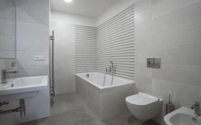 Second Bathroom, with Bathtub