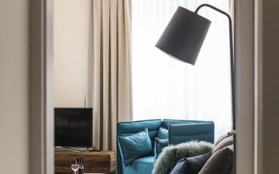 Obývací pokoj apartmánu Sapphirine
