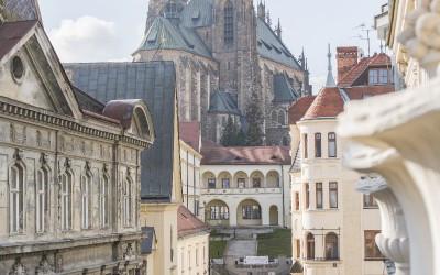 Výhled na katedrálu