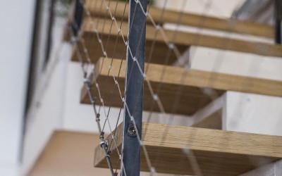 Stair Barrier Netting