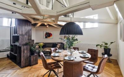 Designer Dining Area