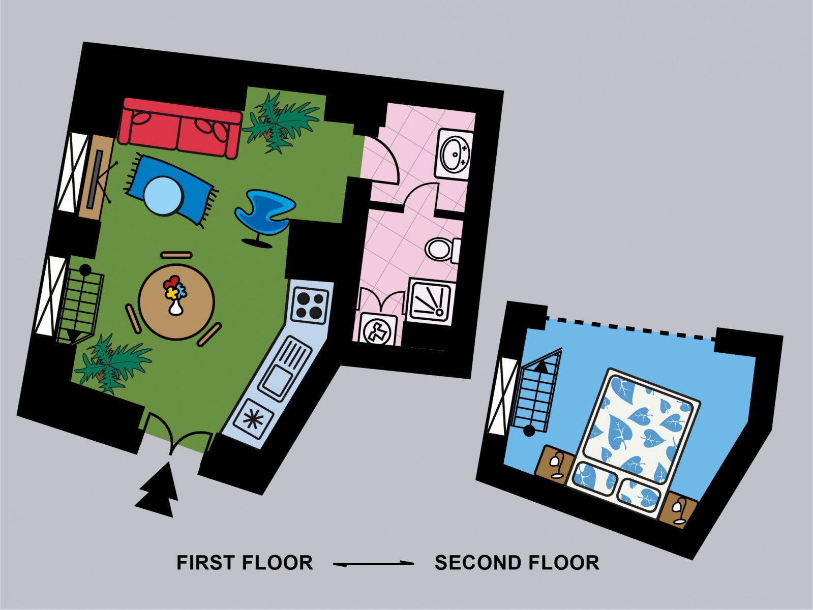 Azalea Apartment Floorplan
