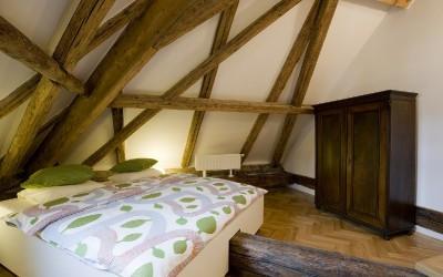 Attractive Bedroom w/ Custom Bed