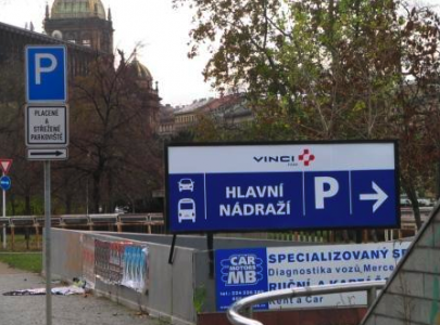 Hlavni Nadrazi Parking | Prague