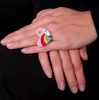 Flamingopark | Lovely Rainbow Ring