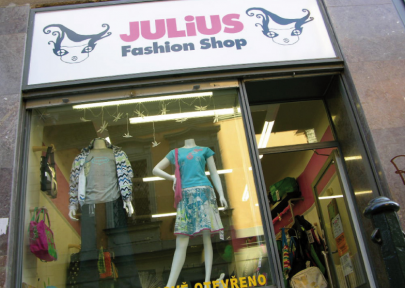 Julius Fashion Shop | Shopping in Prague