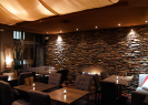 Modry Zub Restaurant | Interior with Fireplace