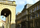 Rudolfinum Gallery | Side View with Museum of Decorative Arts