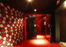 Kino Atlas | Art House Cinema | Red Hallway
