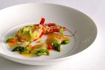 Zinc | Sea Scallops and Steamed King Prawn