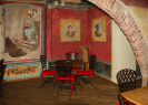 Bacco Wine Bar | Colorful Frescoes
