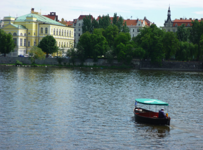 Ferryboat on the Vltava River | Prague