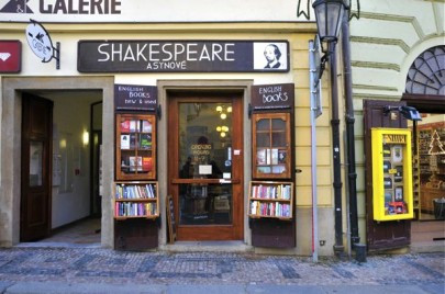 Shakespeare and Sons | Prague English Bookstore | Exterior